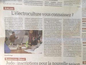 Électrocultrue dépeche